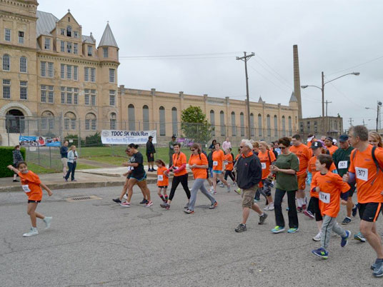 "Corizon Health Supports the Tennessee DOC's 3rd annual ""Run the Green Mile"" 5K in Nashville"