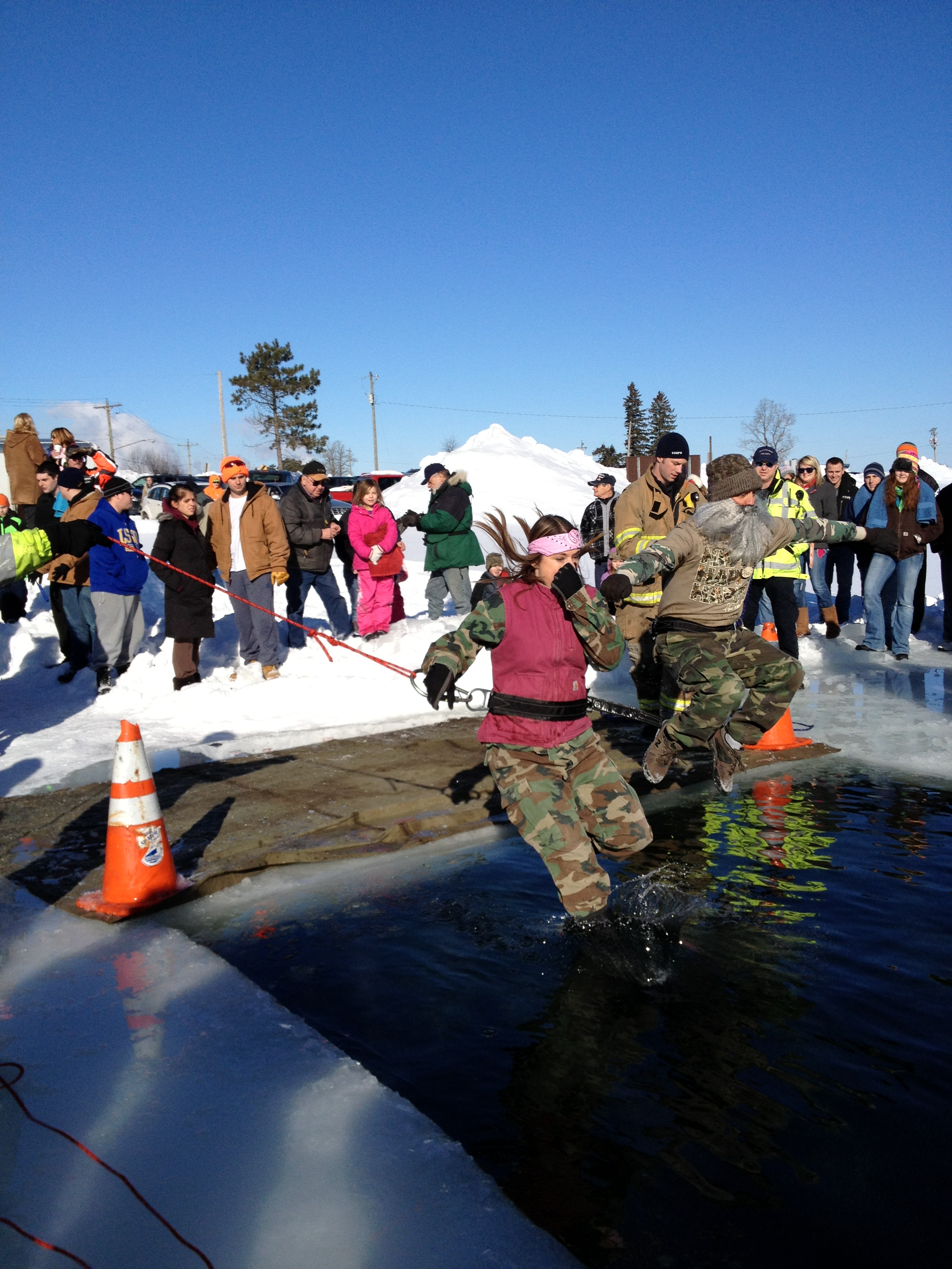 Polar Plunge for MI Special Olympics