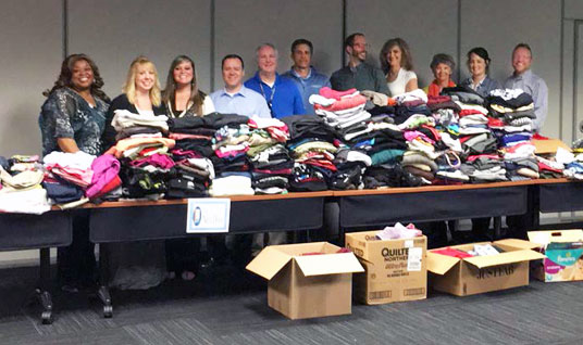 Spring clothing drive benefits two Tennessee charities